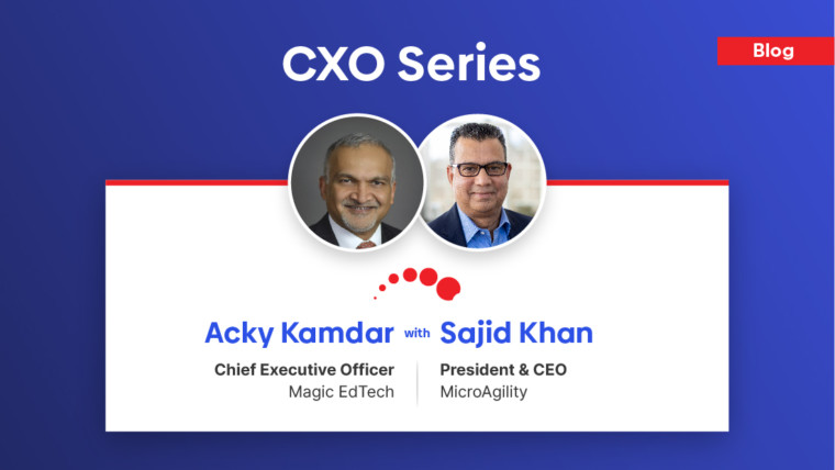 Acky Kamdar, CEO at Magic EdTech shares insights regarding challenges & latest trends of digital learning technology