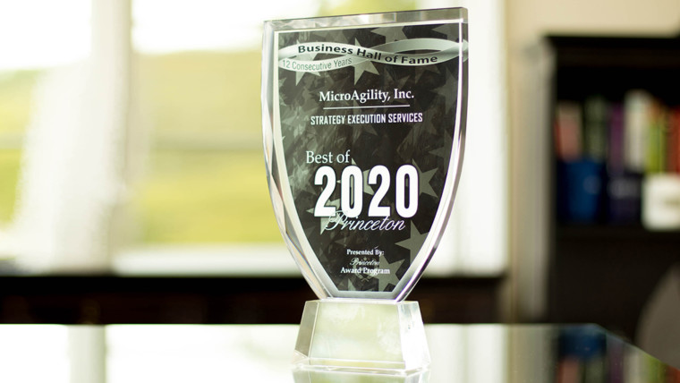 MicroAgility Receives 2020 Best of Princeton Award