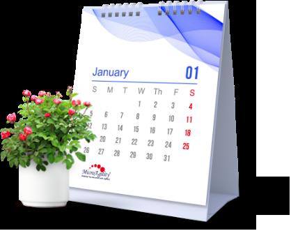 MicroAgility Calendar